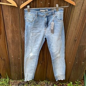 Tractr Diane mid rise slim fit jeans Sz 14 NWT